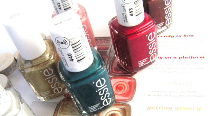 Essie review swatches
