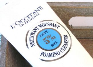 L'Occitane Foaming Cleanser review
