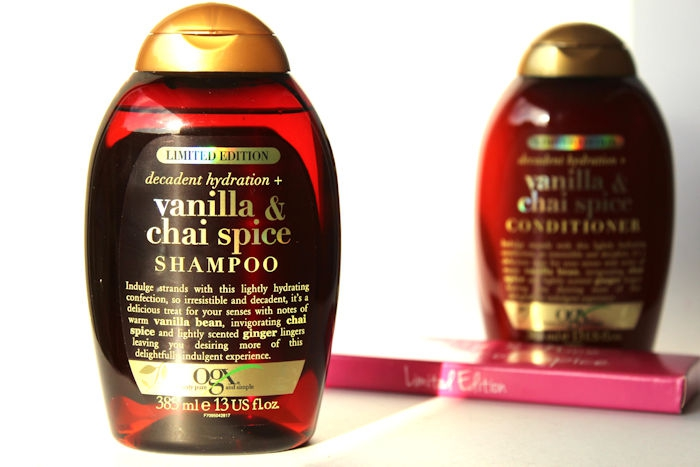 OGX Vanilla Chai Spice review