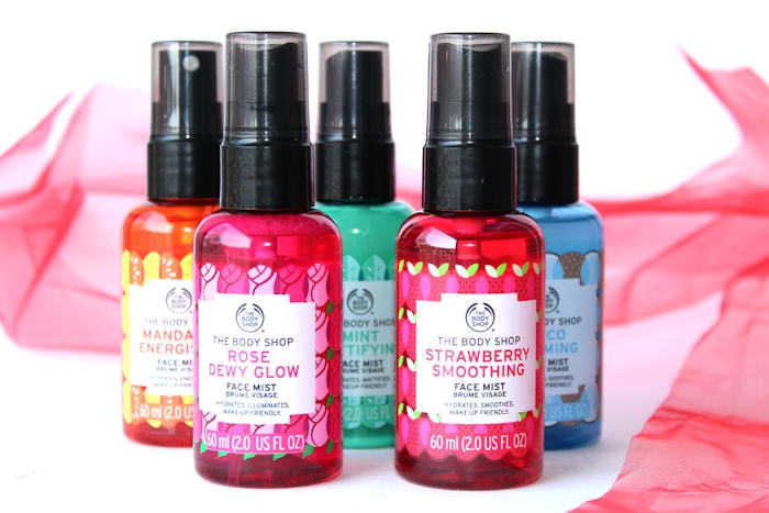Face Mists bij The Body Shop